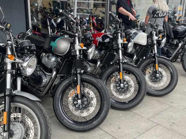 Royal Enfield Hartgate Motorcycles