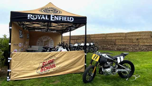 royal enfield slide school dirt craft motorcycles