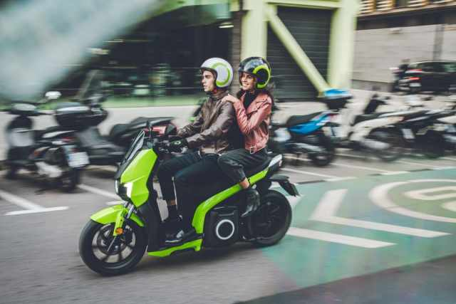 Silence E-moto scooters