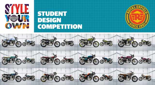 Royal Enfield 2021 style your own finalists
