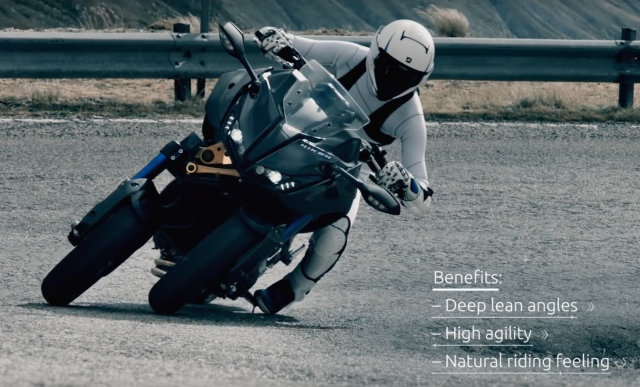 Yamaha Niken tech video
