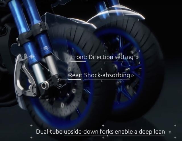 Yamaha NIken front fork