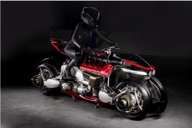 Moto Volante flying bike