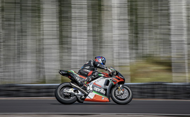 Bradley Smith - Aprilia Racing, Kymi Ring