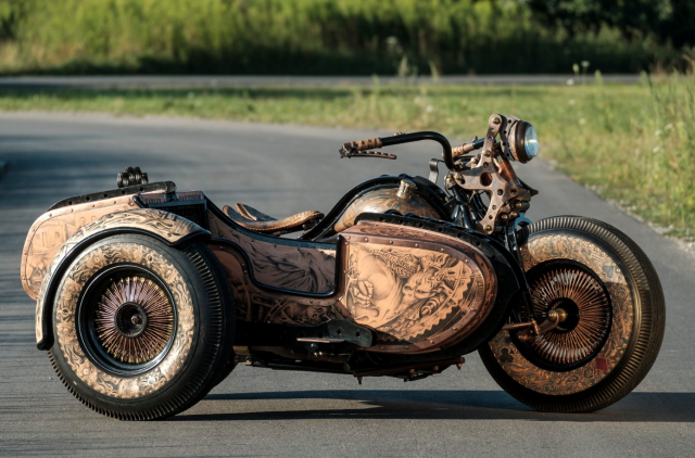 " Harley-Davidson: ""The Recidivist"""