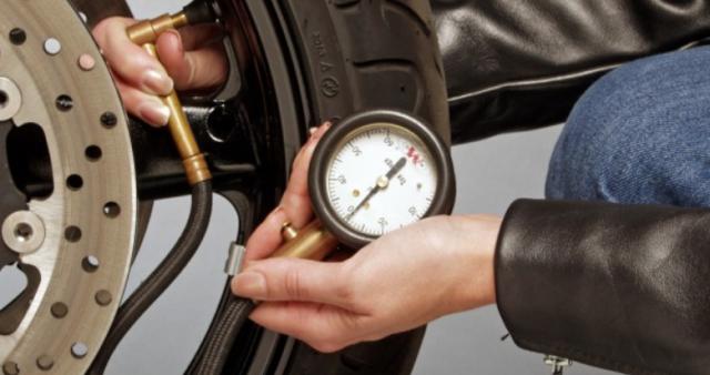 tyre pressure test