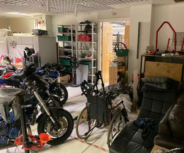 motorcycle chop shop