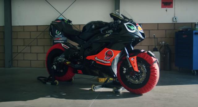 Guinness World Record Yamaha R6