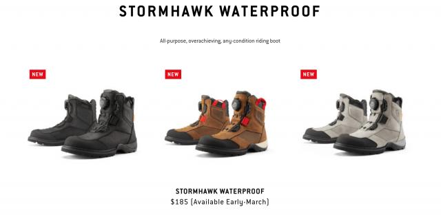 Icon Motosports Stormhawk