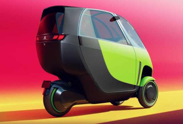 Nimbus X electric commuter