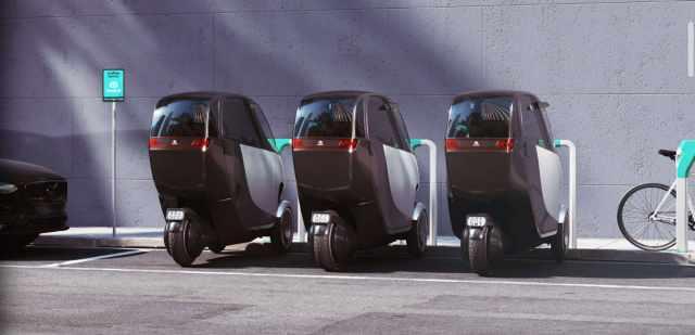 Nimbus Halo charging and parking