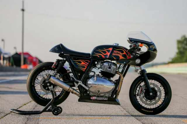 Royal Enfield Continental GT 650 Becky Goebel
