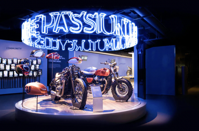 Triumph Factory Experience