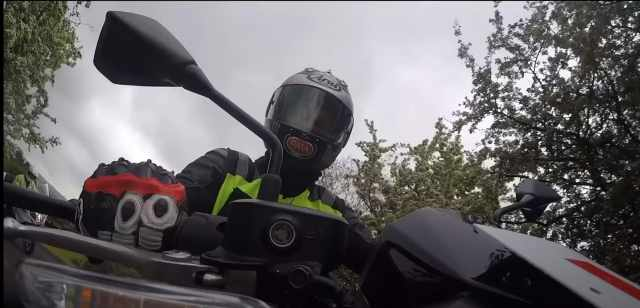 Jonathan Rea riding Kawasaki Z650