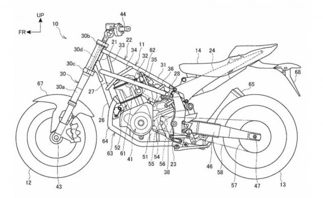Honda NT 1100 Patents