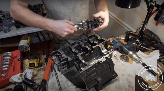 Honda CBR600RR engine
