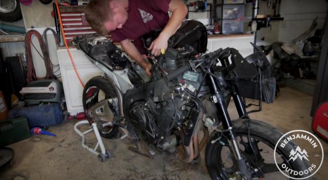 Honda CBR600RR rebuild