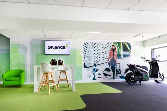 Silence UK Store Interior