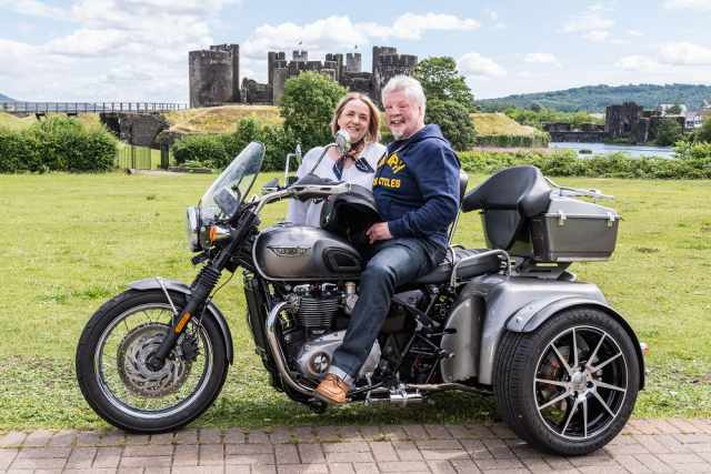 Simon Weston and Wife Lucy