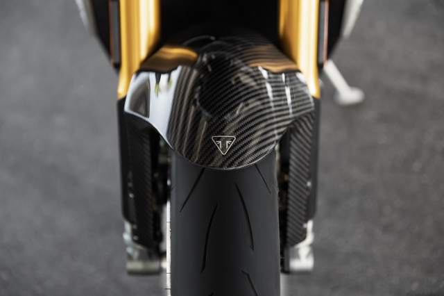 Speed Triple 1200 RS - Carbon Front Mudguard