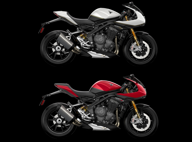 Speed Triple RR and Speed Triple RS comparison
