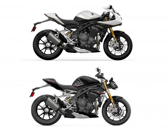 Speed Triple RR vs RS comparison