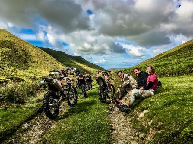 Steinhardt RidetheWild Wales adventures