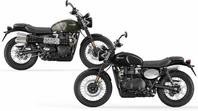 Triumph Street Scrambler 2021 900cc twin