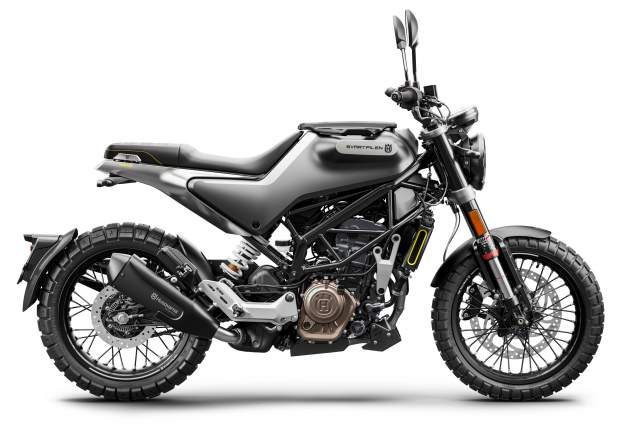 Husqvarna Svartpilen 125 2021 side shot
