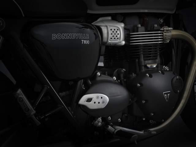2021 Bonneville T100 engine
