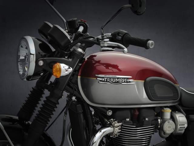 2021 Bonneville T120 engine