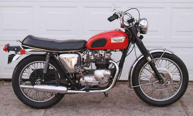 Triumph T100 Daytona [1967-1974]