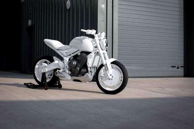 Triumph Trident design prototype revealed