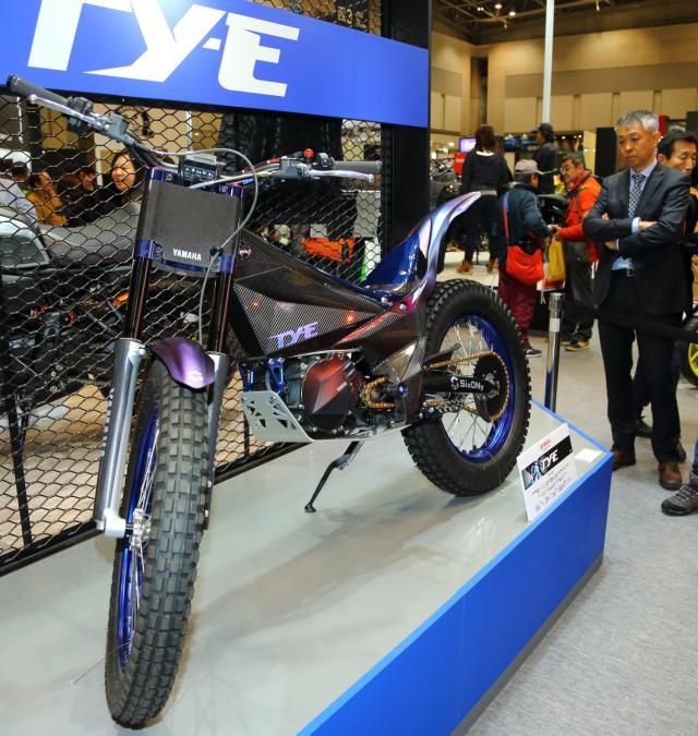 Yamaha TY-E on Tokyo show stand