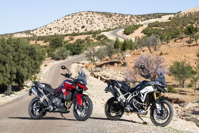 Tiger 900 rally and GT
