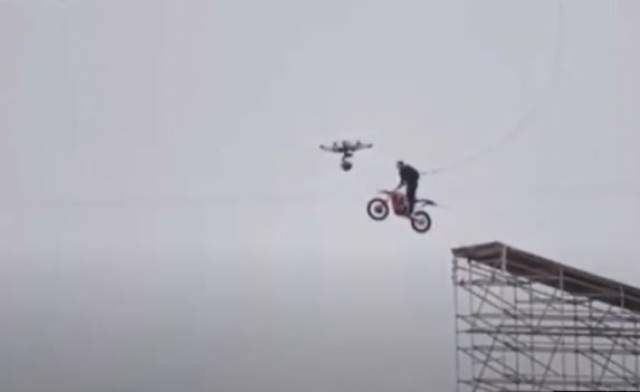 Tom Cruise completes huge ramp jump for latest Mission Impossible film