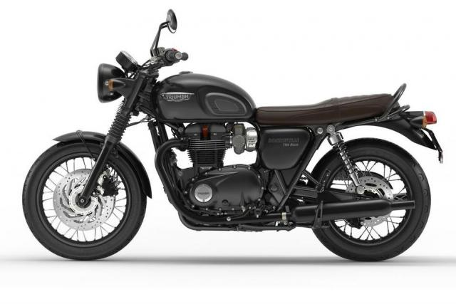 Triumph Bonneville Bobber Black coming for 2018