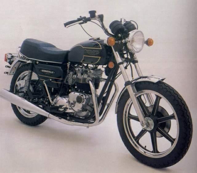 Triumph Bonneville T140D 1979