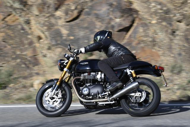 Triumph Thruxton RS Visordown Review