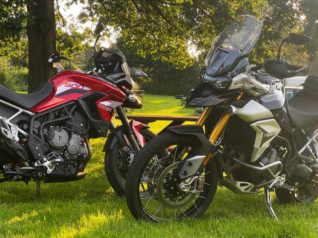 Triumph Tiger 900 GT Pro and Rally Pro