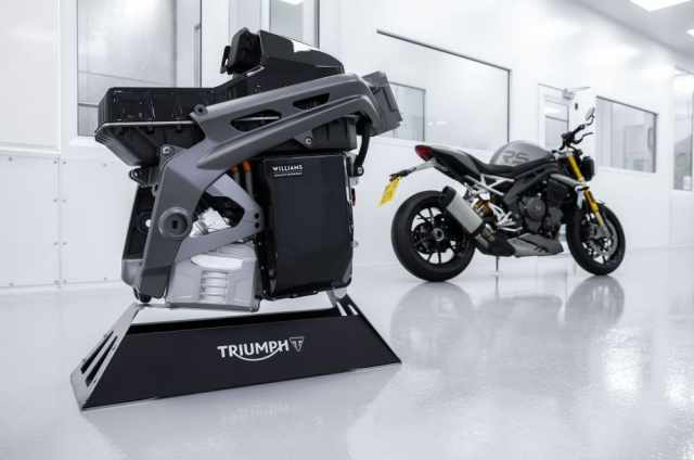 TE-1 electric motorcycle