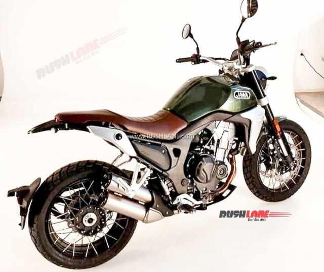 Jawa RVR500 [credit: Bike Wale]