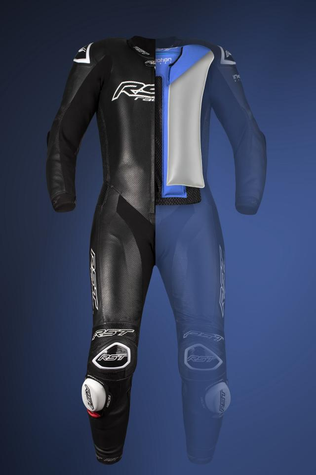 RST V4.1 airbag motorcycle leathers