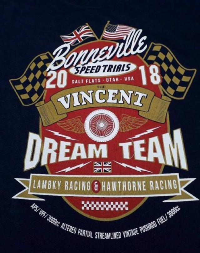 Vincent speed record logo