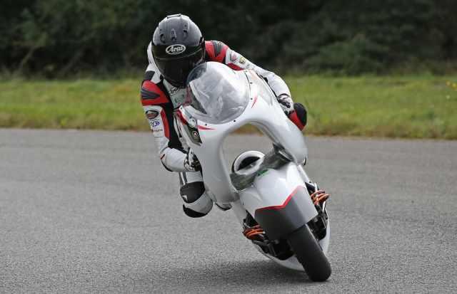 WMC testing riding wmc250ev