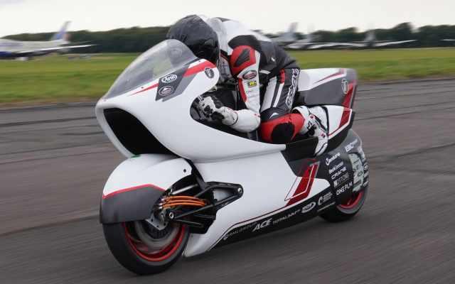 wmc testing electric motorcycle land speed record 2022
