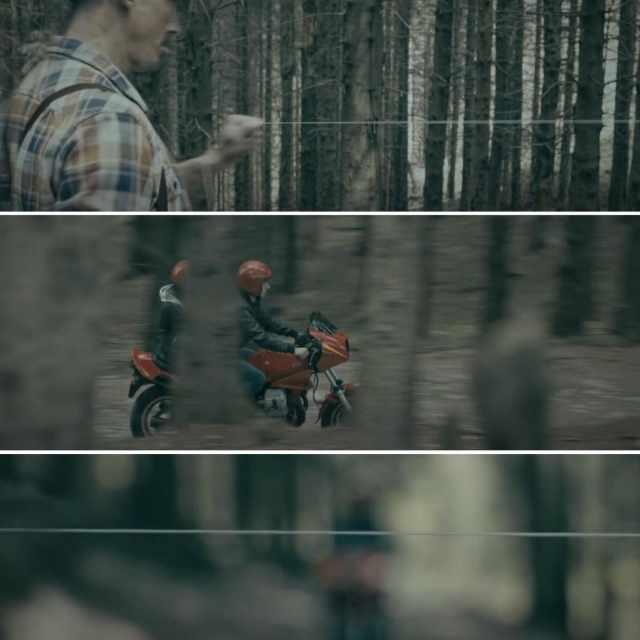 Geldis Floss - Motorcycle Advert