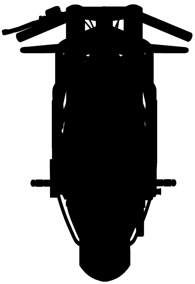 Untitled Motorcycles XP Race silhouette