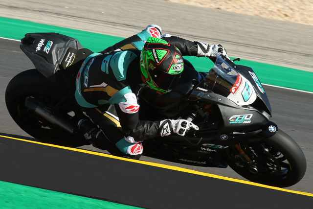 FHO Racing Xavi Flores Testing