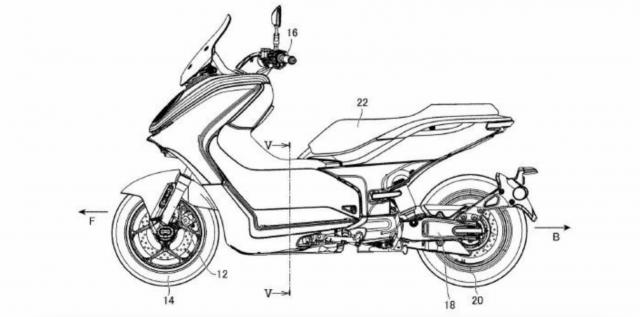 Yamaha E01 Patent